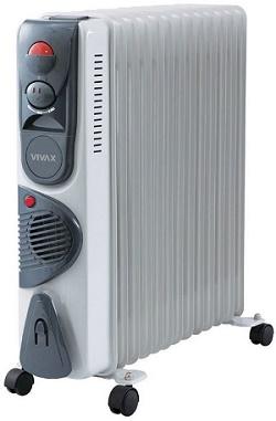 calorifer electric cu ulei de la vivax