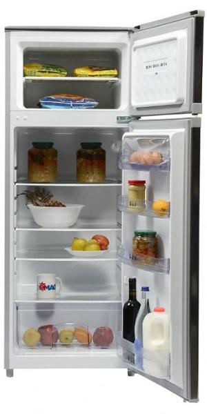 frigider cu doua usi de la whirlpool, volum de 218 l