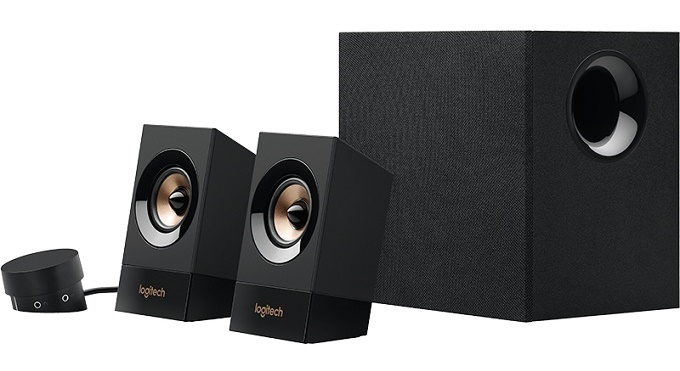 sistem audio 2.1 de la logitech, 60w