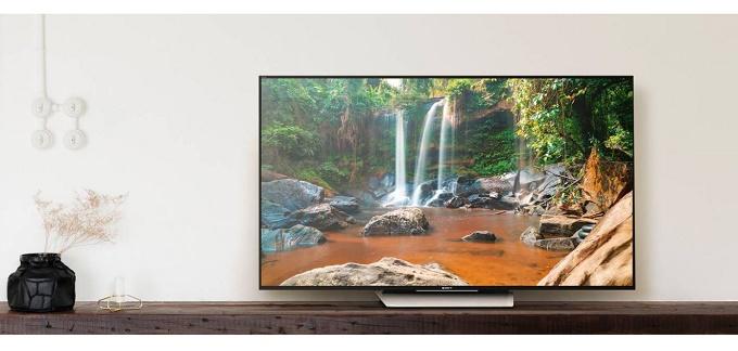 televizor sony, cu rezolutie 4k, smart