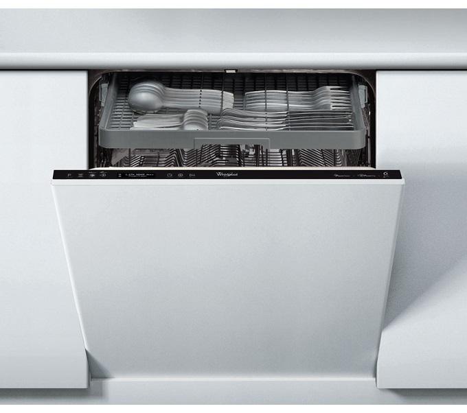masina de spalat vase incorporabila Whirlpool, cu pornire intarziata