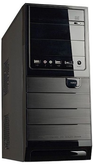 sistem desktop serioux, 4 gb ram, placa video nvidia
