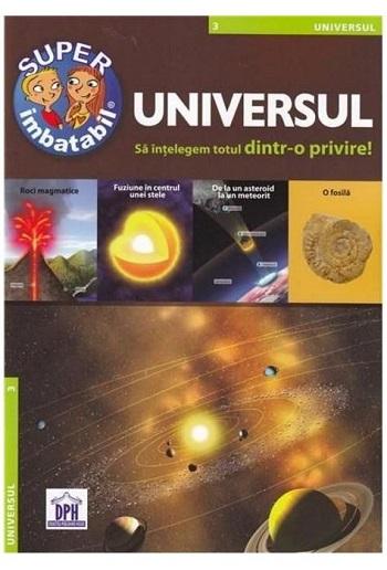 Universul - Sa intelegem totul dintr-o privire, carte de 22 de pagini