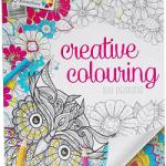 carte de colorat pentru adulti grafix, 50 de file