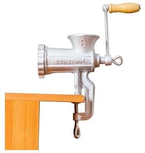 masina de tocat manuala pentru carne, de la Renberg