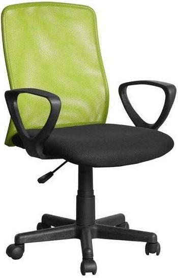 scaun de birou pentru copii, de la Global Network, de culoare verde