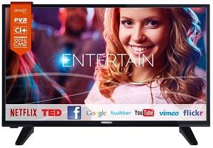 televizor led horizon, 80 cm, rezolutie hd, negru