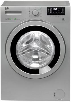 masina de spalat rufe beko, 6 kg, argintie