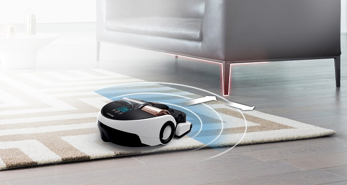 aspirator robot de la samsung, 60 minute autonomie