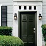usa metalica pentru exterior brixia, blindata, neagra