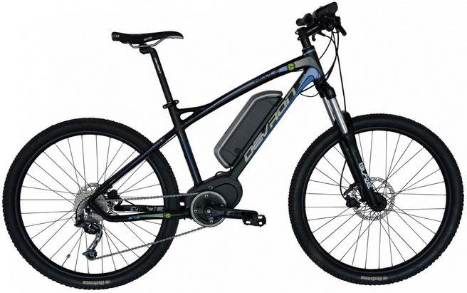bicicleta cu motor cu autonomie crescuta Devron