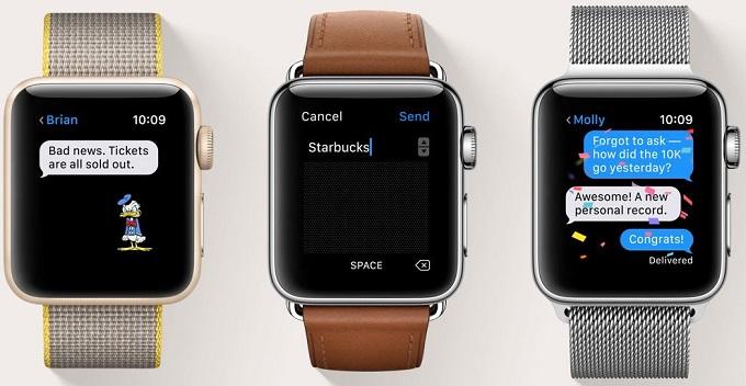 ceasuri smart de la apple, cu ios