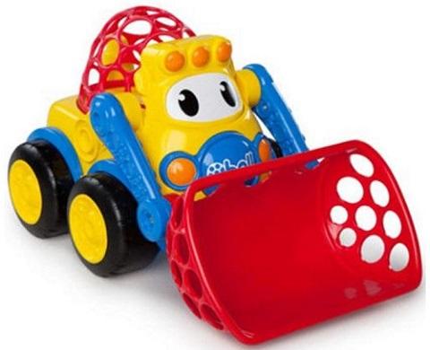 jucarie pentru copil de 1 an fara baterii, buldozer