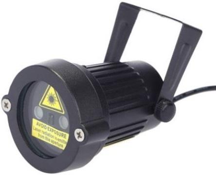 proiector laser GlowMania, exterior, cu telecomanda