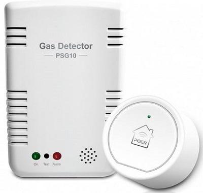 senzor de gaz smart poer, android si ios