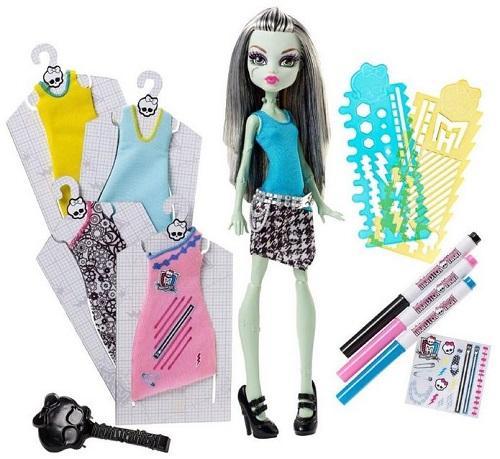 Papusa Monster High cu diverse tinute, Frankie Stein