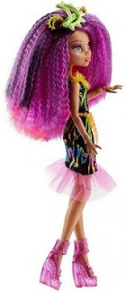 papusa Monster High cu accesorii, multicolora